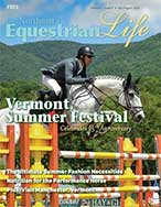 Northeast Equestrian Life cover from July/Aug 2018