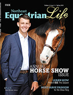 Cover of the Spring 2020 issue of Northeast Equestrian Life